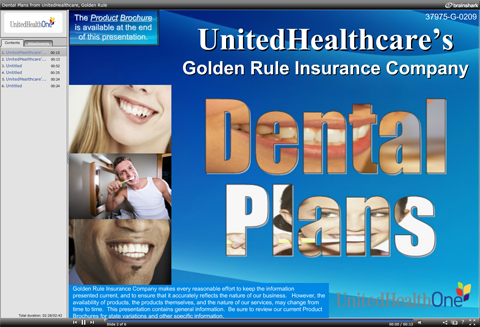 United Health One Dental Plan Slide show